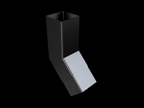 101mm Sq (Rad Edge) Flush Joint Bend 135°