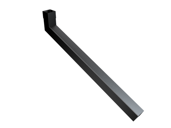 63mm Sq (Rad Edge) Swaged Extended Bend 751-1000mm
