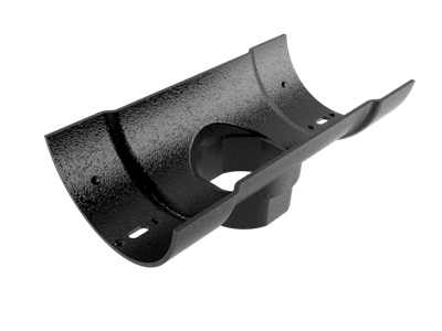150mm Cast Half Round 101mm Dia Outlet