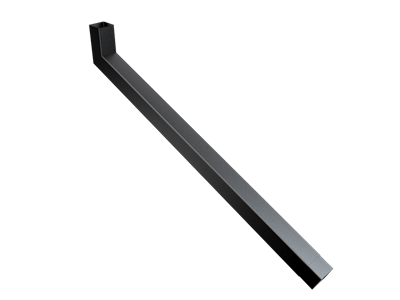 76mm Sq (Rad Edge) F-Joint Extended Bend 1001-1250mm
