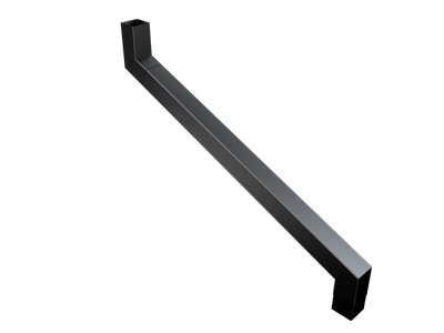 76mm Sq (Rad Edge) F-Joint 2 Pt S/neck 751-1000mm Projection