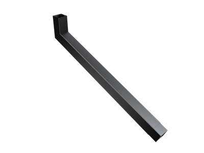 76mm Sq (Rad Edge) F-Joint Extended Bend 751-1000mm