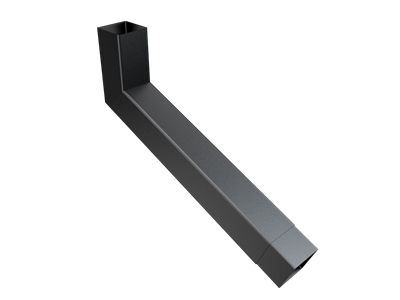 101mm Sq (Rad Edge) F-Joint Extended Bend 251-500mm