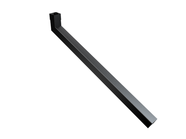 101mm Sq (Rad Edge) Swaged Extended Bend 1001-1250mm