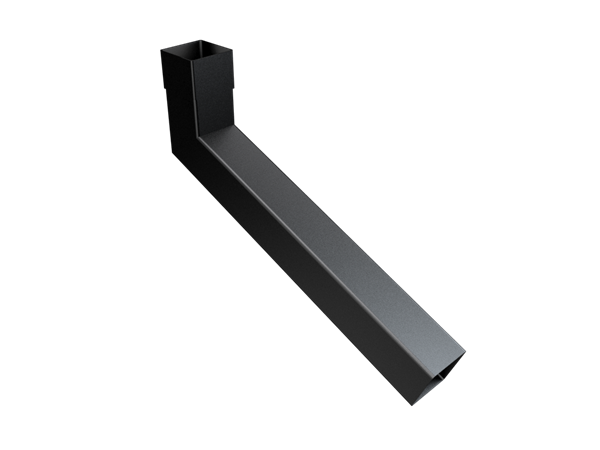 63mm Sq (Rad Edge) Swaged Extended Bend 251-500mm