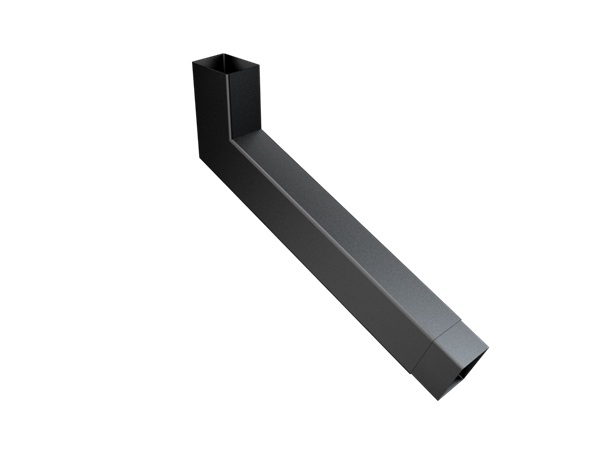 101x76mm Rect (Rad Edge) F-Joint Extended Bend 251-500mm
