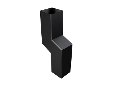 76mm Sq (Rad Edge) F-Joint 1 Pt S/neck 0-150mm Projection
