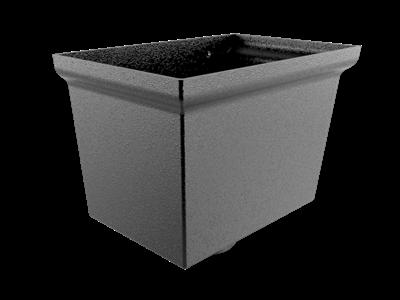 Centurion Small Cast Hopper - 76mm Dia Outlet Flushfit