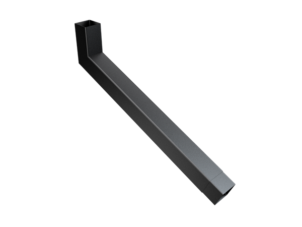 101mm Sq (Rad Edge) F-Joint Extended Bend 501-750mm