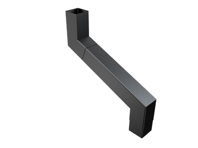 76mm Sq (Rad Edge) F-Joint 2 Pt S/n 151-400mm Projection