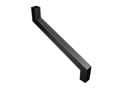 76mm Sq (Rad Edge) F-Joint 2 Pt S/n 401-750mm Projection