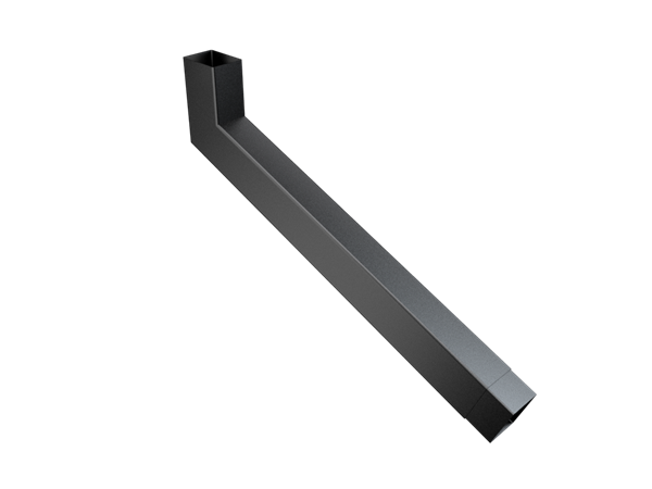 101x76mm Rect (Rad Edge) F-Joint Extended Bend 501-750mm