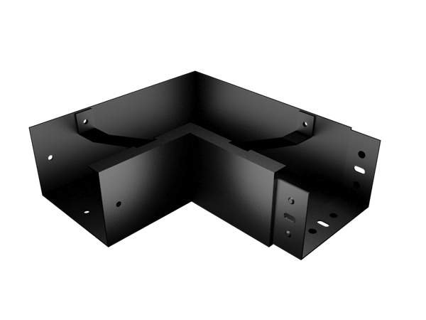 125x100mm Joggle Joint Box Gutter Int Angle 90°