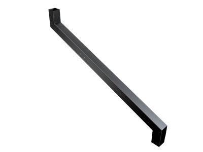 76mm Sq (Rad Edge) F-Joint 2 Pt S/n 1001-1250mm Projection