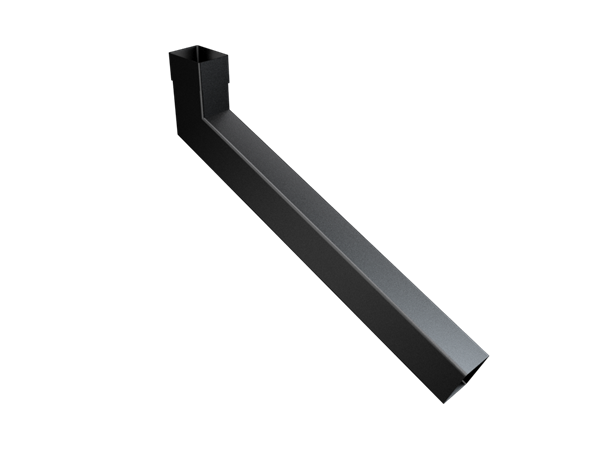 101x76mm Rect (Rad Edge) Swaged Extended Bend 501-750mm