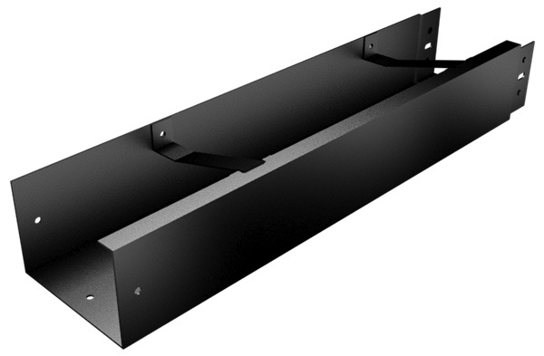 100x75mm Joggle Joint Box Gutter 2.96m